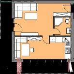 Квартира 44 кв.м - 1 октября ключи