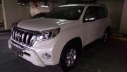 Toyota Prado TXL 2012 году модель,  цвет белый .... полный вариант../